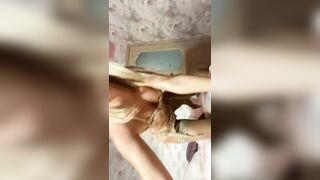 HelenBaker horny blonde teen cam video